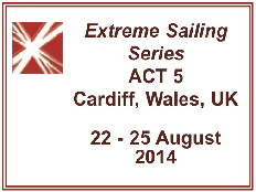 Extreme Sailing Series ACT 5Cardiff, Wales, UK
