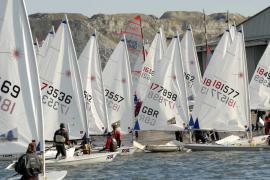 Laser Radials at the RYA Youth National Championships and Trials: � RYA/ Lee Whitehead.