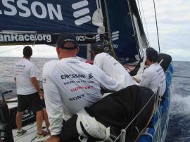 Ericsson on leg 5 to Baltimore: � Ericsson Racing Team