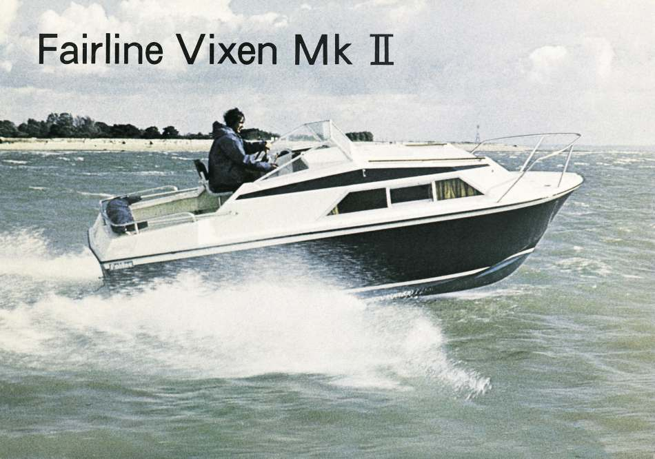 Fairline Vixens were about 19ft I seem to recall.