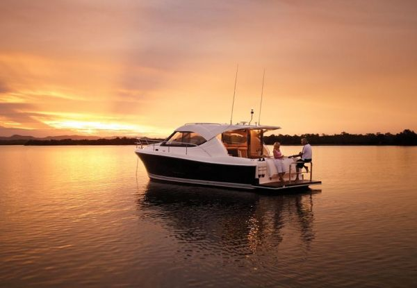 Riviera 3600 Sport Yacht available with IPS