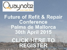 Future of Refit & Repair Conference Palma de Mallorca 30th April 2015. Register here