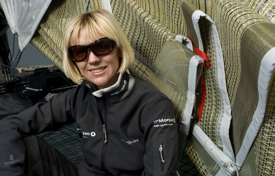 ... she took over the JP Morgan Extreme 40 for the entire 2008 series.